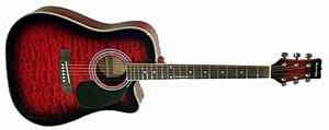 Акустическая гитара Martinez FAW-802CQ