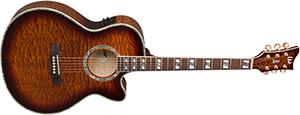 Электроакустическая гитара ESP LTD XTONE AC-30E QM цвет