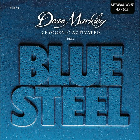 Струны Dean Markley Blue Steel Bass