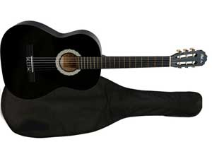 Классическая гитара с чехлом Phil Pro AC-39 BK BAG