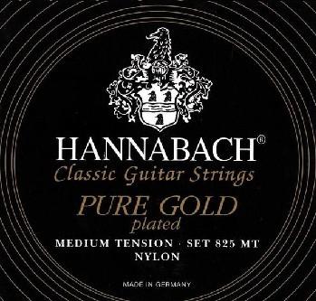 Струны Hannabach 825 PURE GOLD