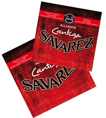 Струны Savarez Alliance Cantiga 510ARx2