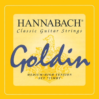 Струны Hannabach Goldin