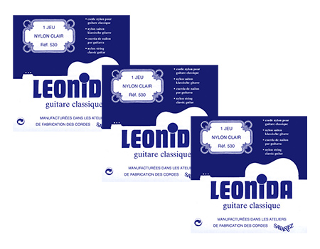 Струны Savarez Leonida (3xPack)