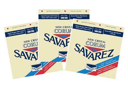 Струны Savarez New Cristal Corum 500CRJx3