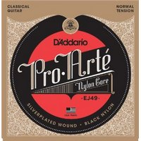 D'ADDARIO Pro Arte Nylon Core Black Nylon