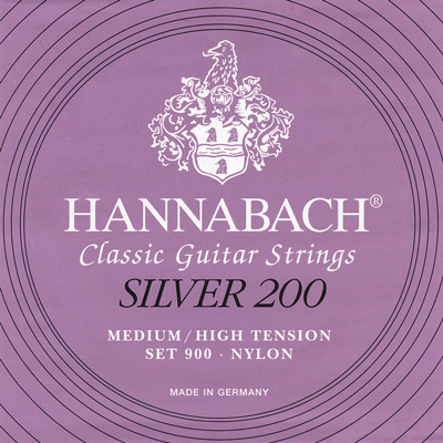 Струны Hannabach Silver R200