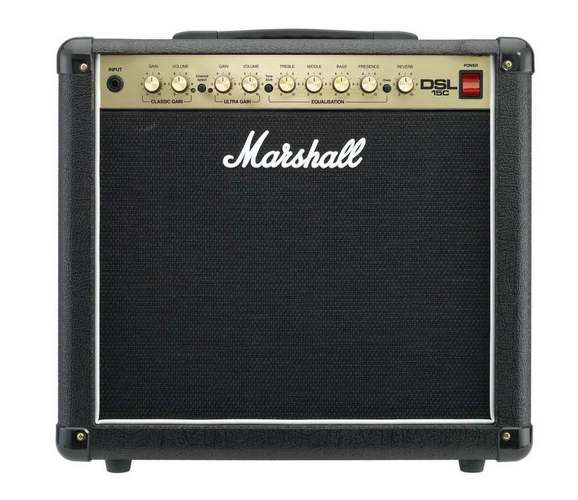 Marshall DSL15C - двух канальный ламповый гитарный усилитель MARSHALL, построенный на лампах ECC83 и 6V6, c дорогим...