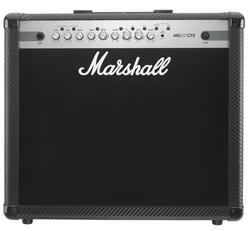 Гитарный усилитель Marshall MG101CFX.