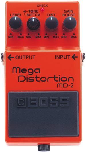 Mega Distortion Boss MD-2