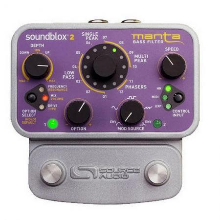 Басовый частотный фильтр Source Audio SA223