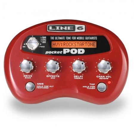 Компактный процессор Line6 Pocket POD