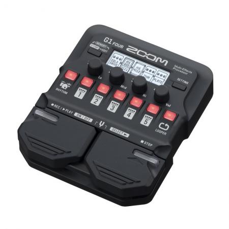Гитарный процессор мультиэффектов Zoom G1 Four