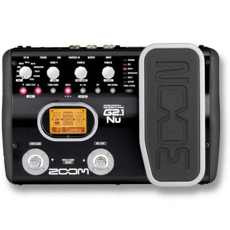 Гитарный процессор Zoom G2.1Nu
