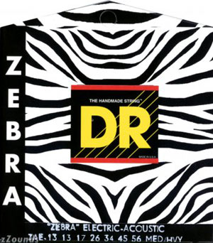 Струны DR Zebra