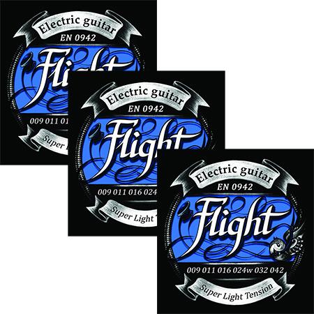 Струны Flight EN (3 Pack)