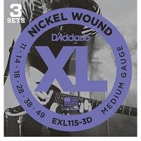 D'ADDARIO EXL115/3D
