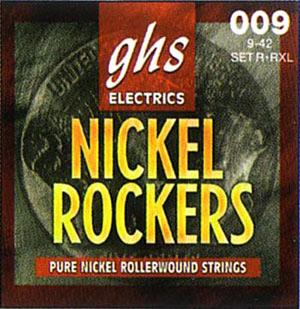 Струны ghs Nickel Rockers