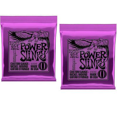 Струны Ernie Ball Power Slinky (2 pack)
