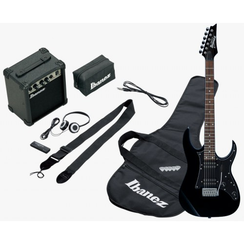 Гитарный набор Ibanez IJRG200U Black New Jumpstart