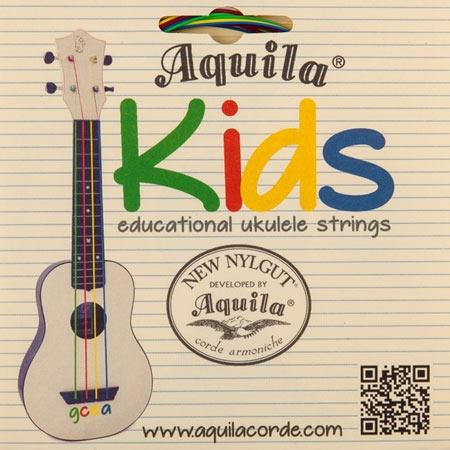 Разноцветные струны для укулеле Aquilla 138U