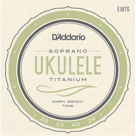 Струны для сопрано укулеле D`Addario EJ87S
