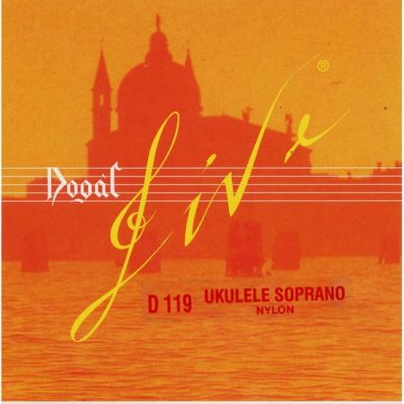Комплект струн для укулеле-сопрано Dogal D119