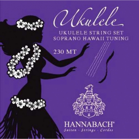 Струны для укулеле-сопрано Hannabach 230MT