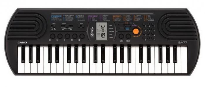 Синтезатор для детей. Casio SA-77