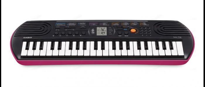 Синтезатор для маленьких детей. Casio SA-78