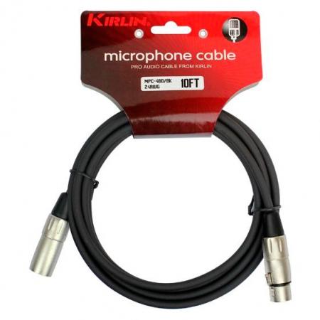 Микрофонный кабель Kirlin MPC-480-3M-BK