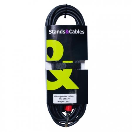 Микрофонный кабель Stands&Cables MC-085XJ-5