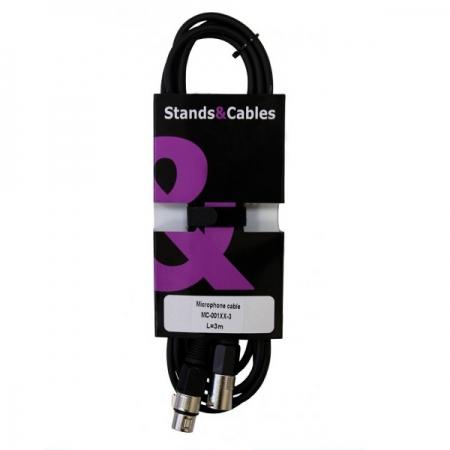 Микрофонный кабель Stands&Cables MC-001XX-3
