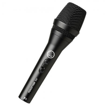 Недорогой вокальный сценический микрофон AKG P5S