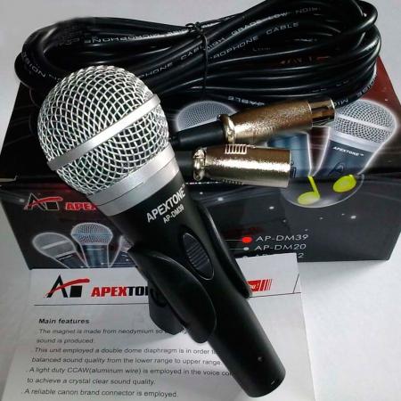 Вокальный динамический микрофон Apextone DM-39