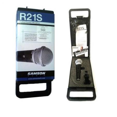Микрофон динамический Samson R21S