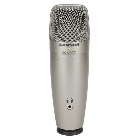 Студийный конденсаторный микрофон Samson C01U PRO