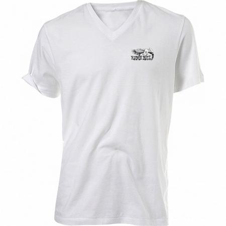 Белая футболка с логотипом Ernie Ball