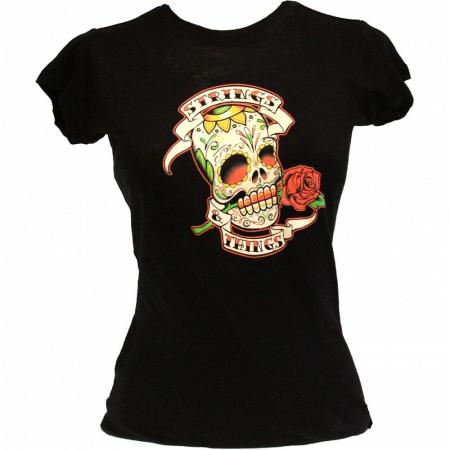 Футболка Ernie Ball Skull and Roses