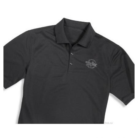 Тениска черная Taylor Deluxe Polo T-shirt