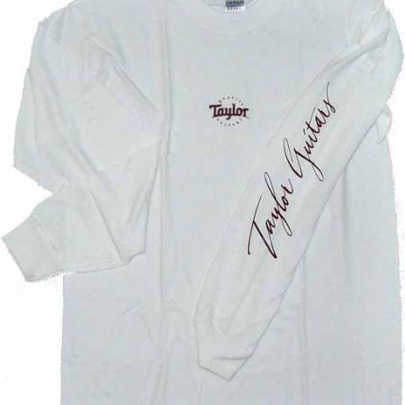 Футболка белая Taylor RODI LS T-Shirt